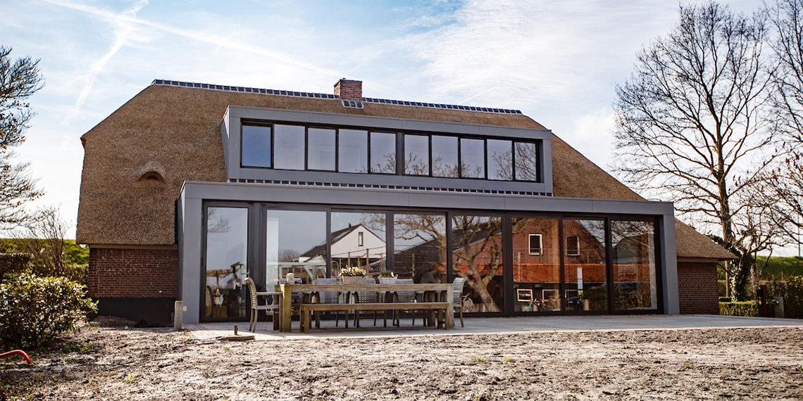 architect moderne woonboerderij verbouw en renovatie boerderij wellseind van der vliet